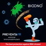 PREVENTAVIR - antiviral immunostimulant 90 and 120 capsules